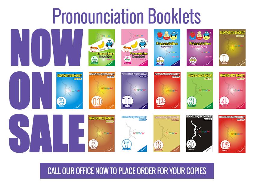 Pronunciation Booklets